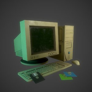 old computer 3D