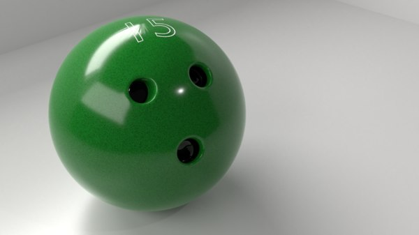bowling ball p 3D