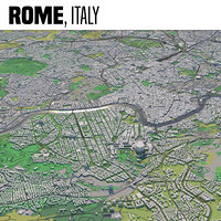 city rome 3D model