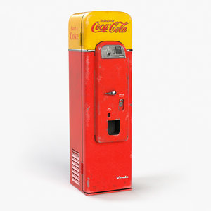 3D 1956 vending machine