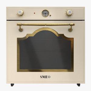 realistic oven 3D model