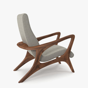 lounge chair 3D