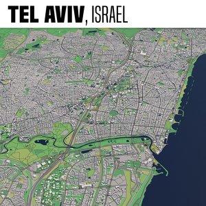 3D city tel