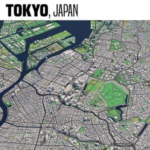 3D tokyo maps