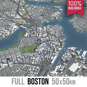 boston city - 3D