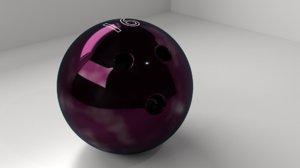 3D bowling ball 16 p