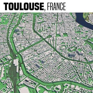 3D city toulouse