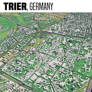 city trier 3D model