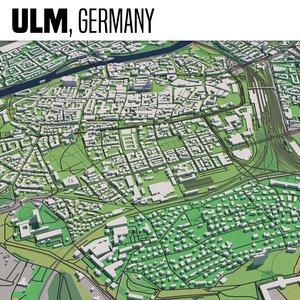 3D city ulm