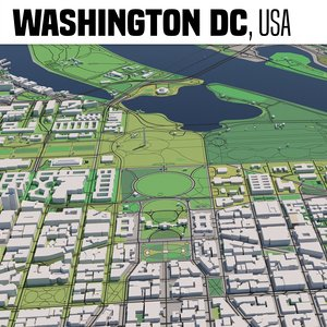3D model washington