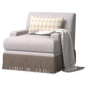 yves lounge chair model