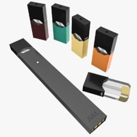 3D model vaping pod juul