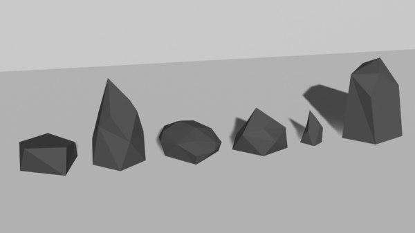 pack rocks model