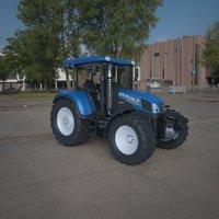holland tractor 3D model