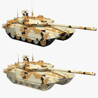 t-90 ms desert 3D