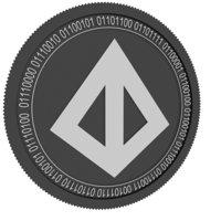loopring black coin 3D