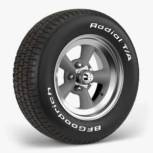 bfgoodrich t torq thrust 3D model
