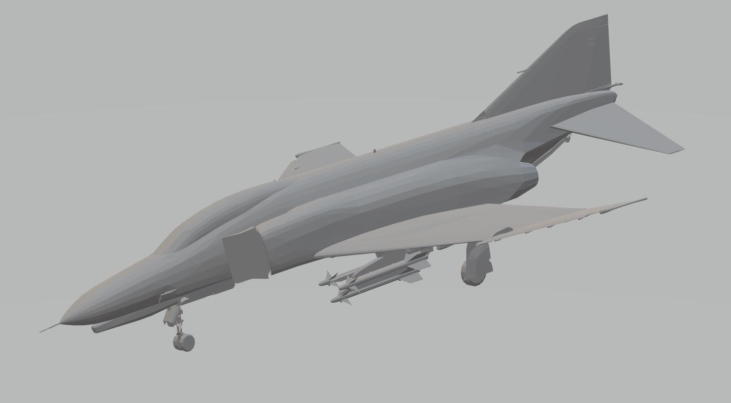 3D f4e phantom ii armed