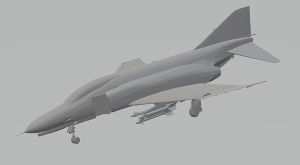 3D f4e phantom ii armed