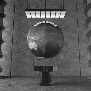 concepts heavy metal earth 3D model