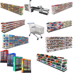 3D grocery store