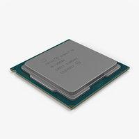 3D intel core i9 9900k model
