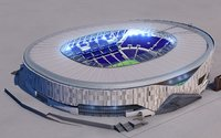 Tottenham Football Stadium 3D model