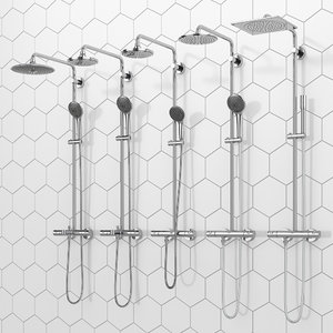 shower systems grohe vitalio model
