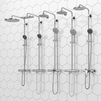 shower systems grohe vitalio 3D
