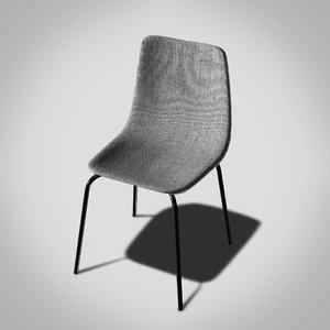 modern chair kitchen 3D model