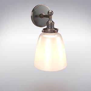 sconces light 3D model