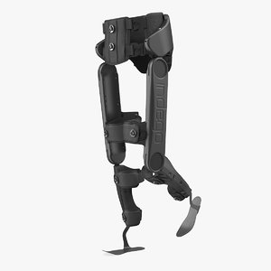 rehabilitation exoskeleton indego rigged 3D