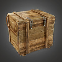 Military Supplies Crate 01 - MLT - PBR Game Ready