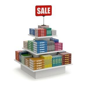book sale 3D model