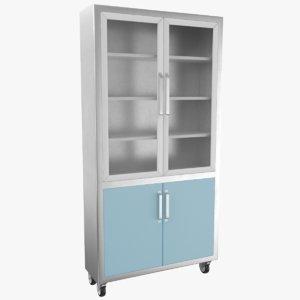 3D medical cabinet