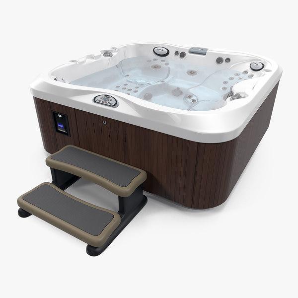 jacuzzi j-335 person hot tub 3D model