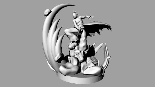 3D action figure
