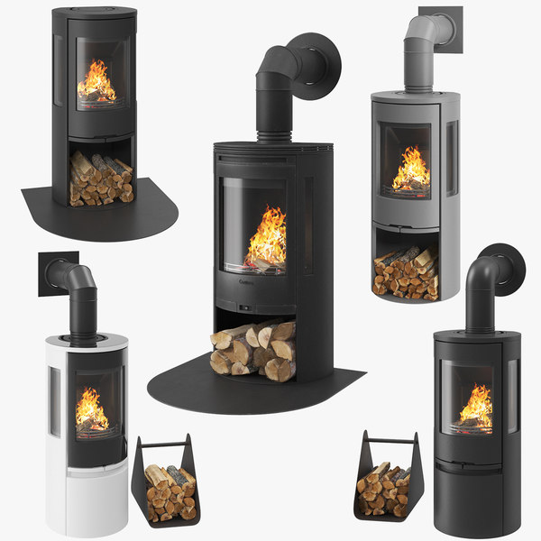 fireplace 01 3D model