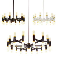 3D model draven chandelier