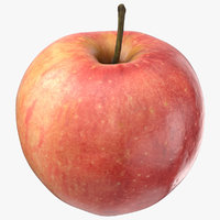 sweet apple 01 3D model