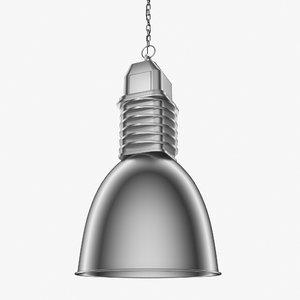 pendant lamp loft 3D model