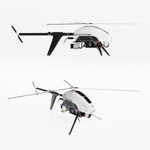 drone vapor 55 3D model