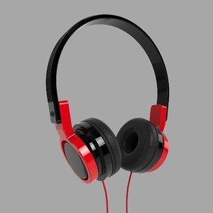 headphones device 3D model