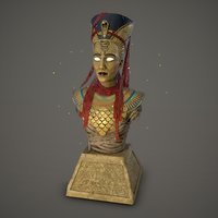 Nefertiti Bust - Assassins Creed Origins DLC Fan Art ZTL STL