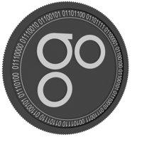 3D omisego black coin