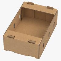 cardboard display box 01 3D model