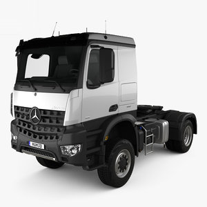 mercedes-benz arocs tractor 3D model