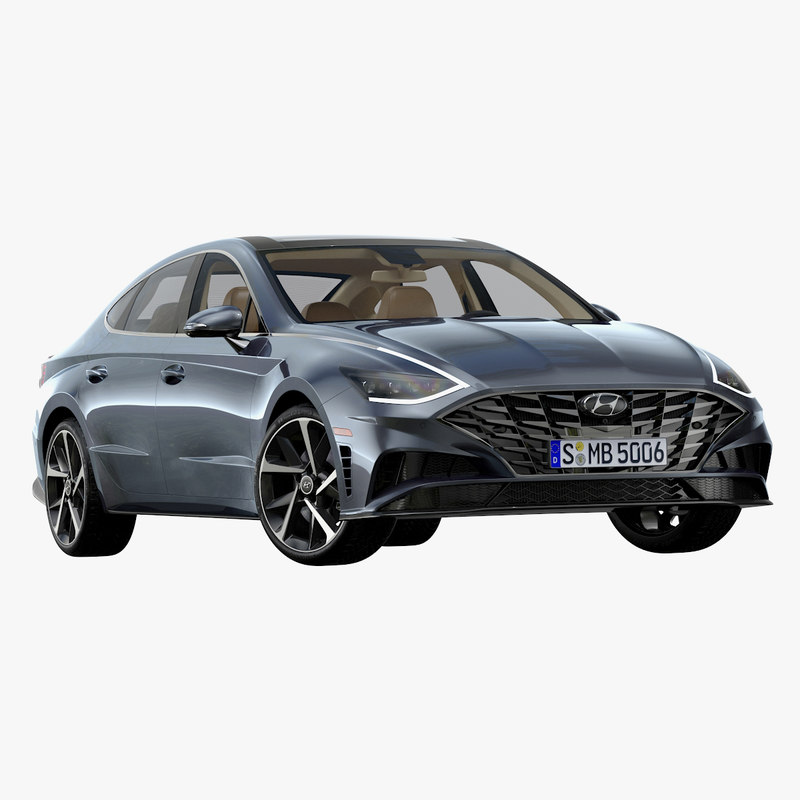 3D Other Hyundai Sonata 2020