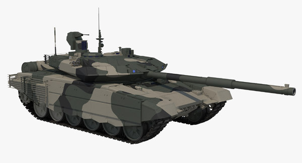 t-90 ms regular clean 3D model
