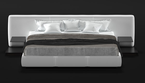 walter knoll bed yuuto 3D model